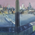 Blavatnik Panorama (Tate Modern View North), 2017 SOLD
