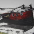 Orford Red Boat Study 1